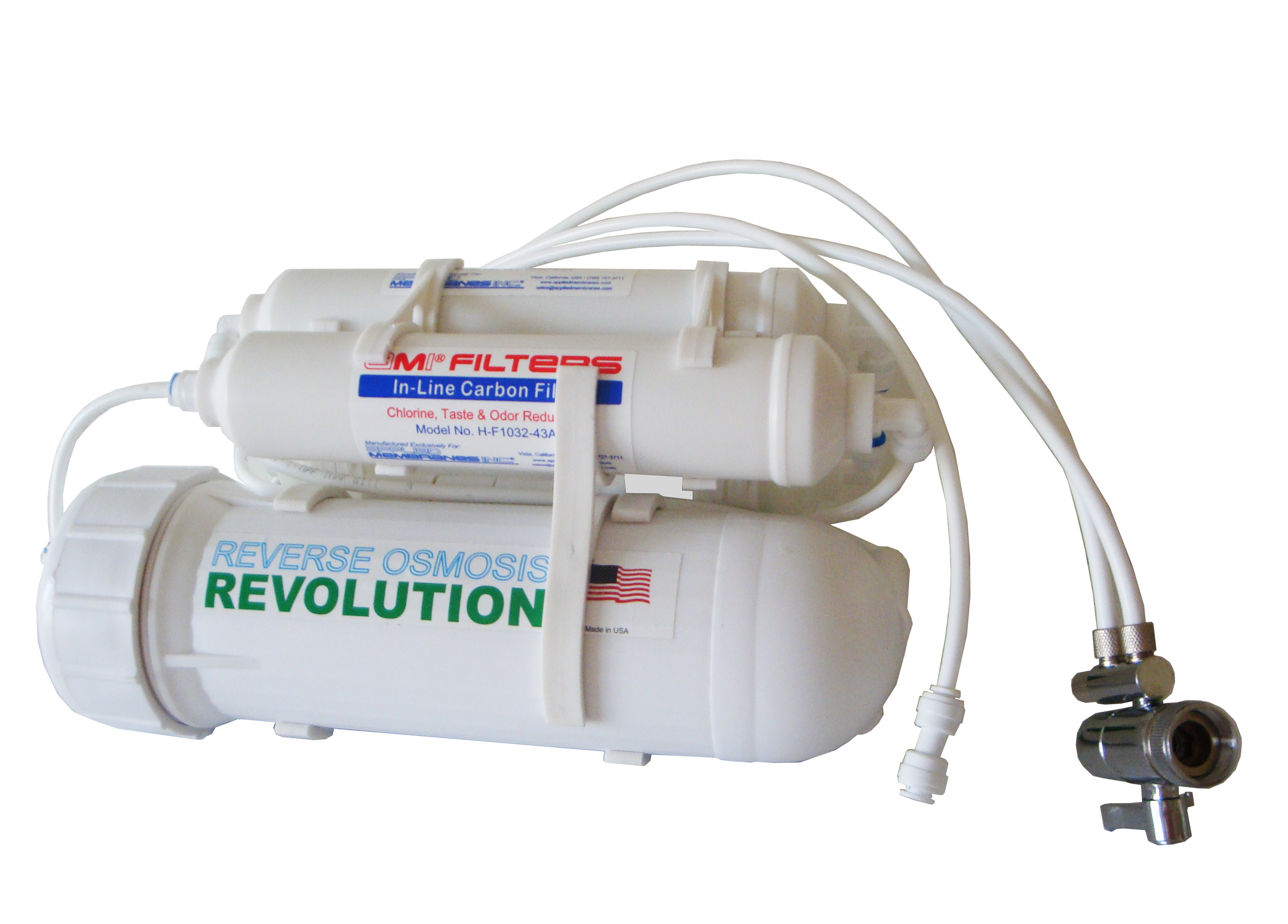 Turbo 200 GPD 5 stage Home/Light Commercial Reverse Osmosis Revolution Water Purification System (with Super 200 GPD Membrane)