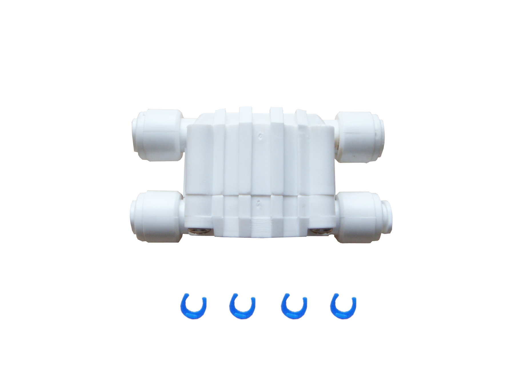 "1/4"" Universal AutoShut Off Valve for Reverse Osmosis RO Systems with Quick Connect"