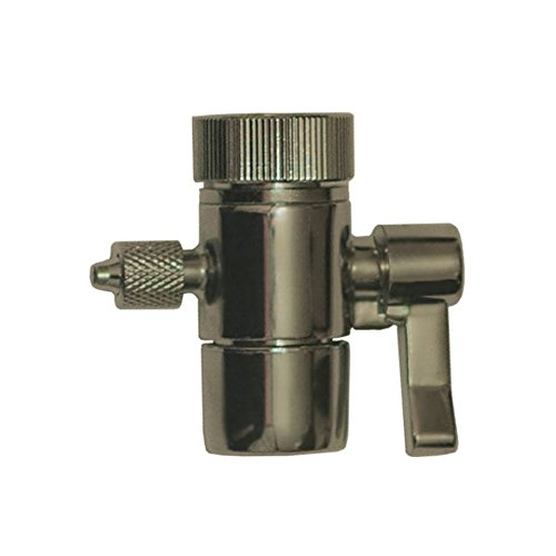 One-way Water Diverter for faucets, fit spout with MALE threads (55/64)