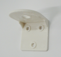 Plastic wall mounting bracket for Long Reach Reverse Osmosis Filter Faucets