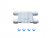"""1/4"""" Universal AutoShut Off Valve for Reverse Osmosis RO Systems with Quick Connect"""