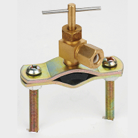 """Water Feeder (Saddle Valve) Adapter for 1/4"""" tubing,  Needle Valve"""