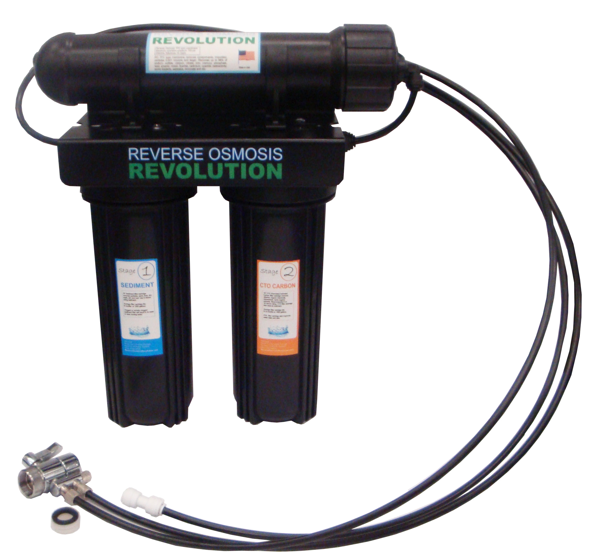 Black Series Expandable Home Drinking Reverse Osmosis