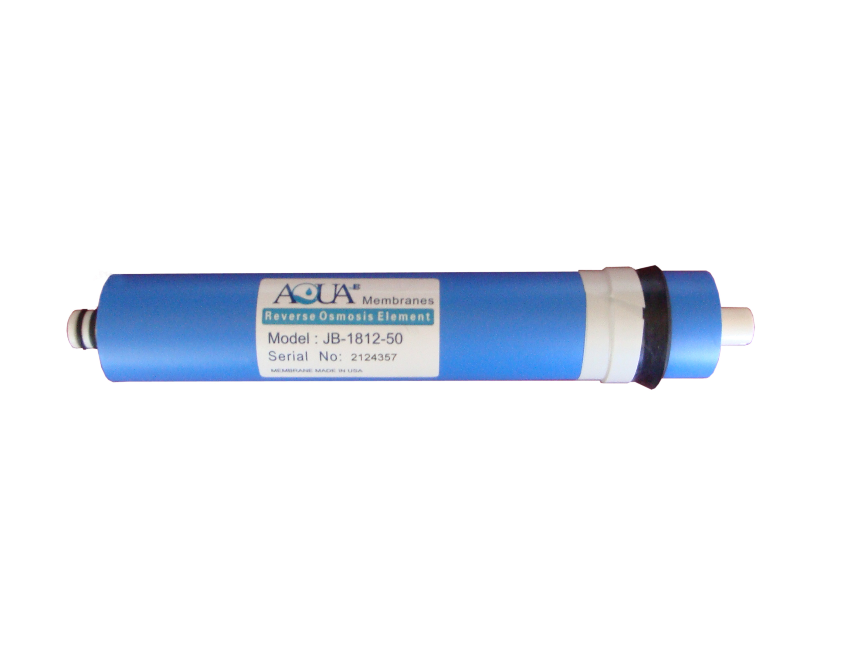 Reverse Osmosis Membrane, 50 GPD. Made in USA.