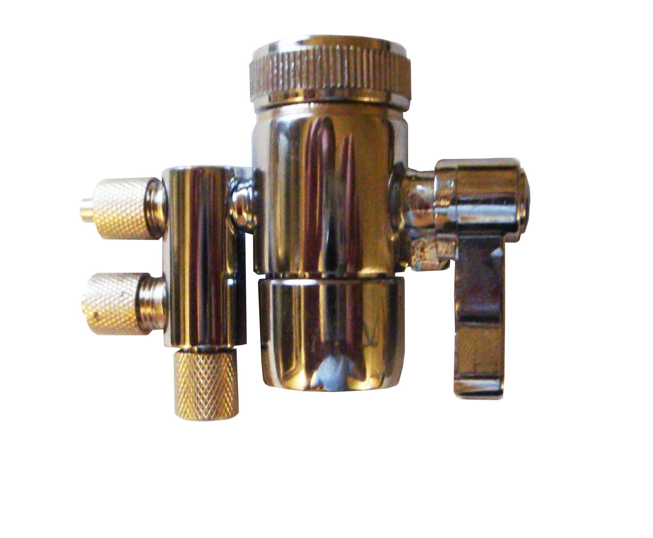 2-Way Water Diverter,  fit spout with MALE threads (55/64)
